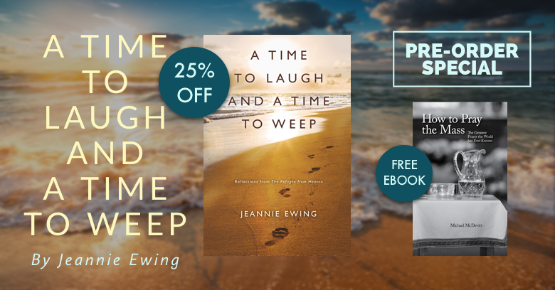 Pre-order A Time To Laugh and a Time To Weep to get 25% off plus a free ebook