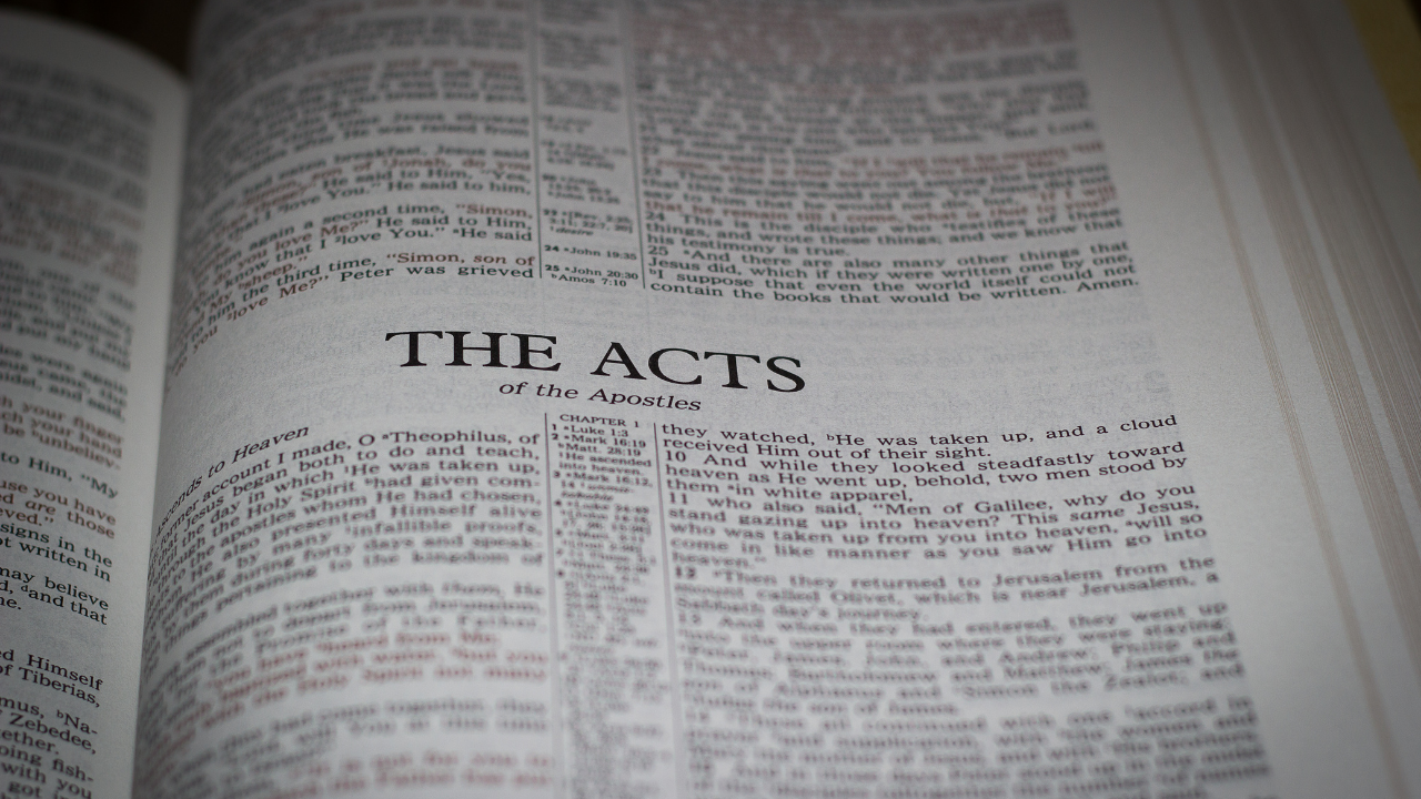 The Book of Acts: In Power and In the Holy Spirit During the Easter Season