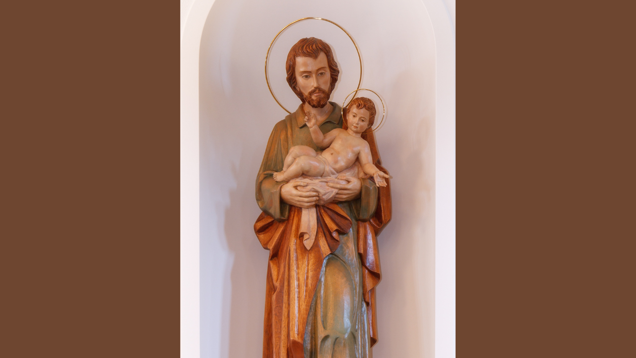 St. Joseph is the Man!