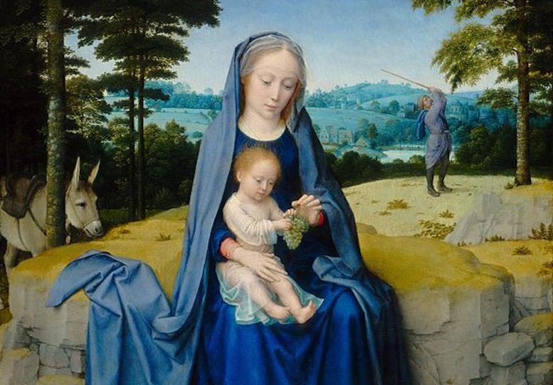 Mary and the Importance of the Color Blue