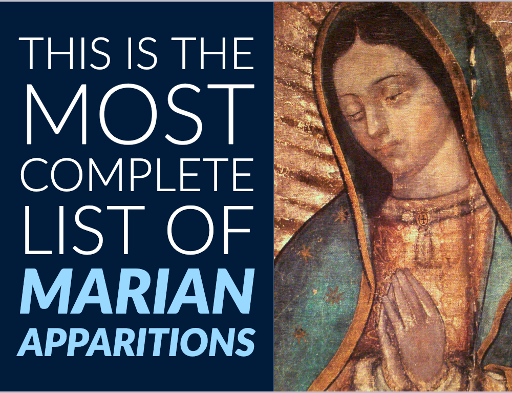 This Is the Most Complete List of Marian Apparitions