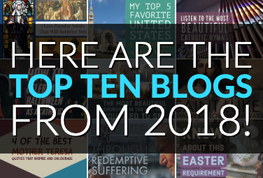 Here are the Top Ten Blogs from 2018!