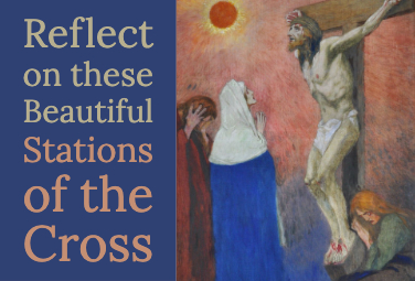 Reflect on these Beautiful Stations of the Cross