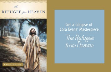 "Get a Glimpse of Cora Evans' Masterpiece ""The Refugee From Heaven"""