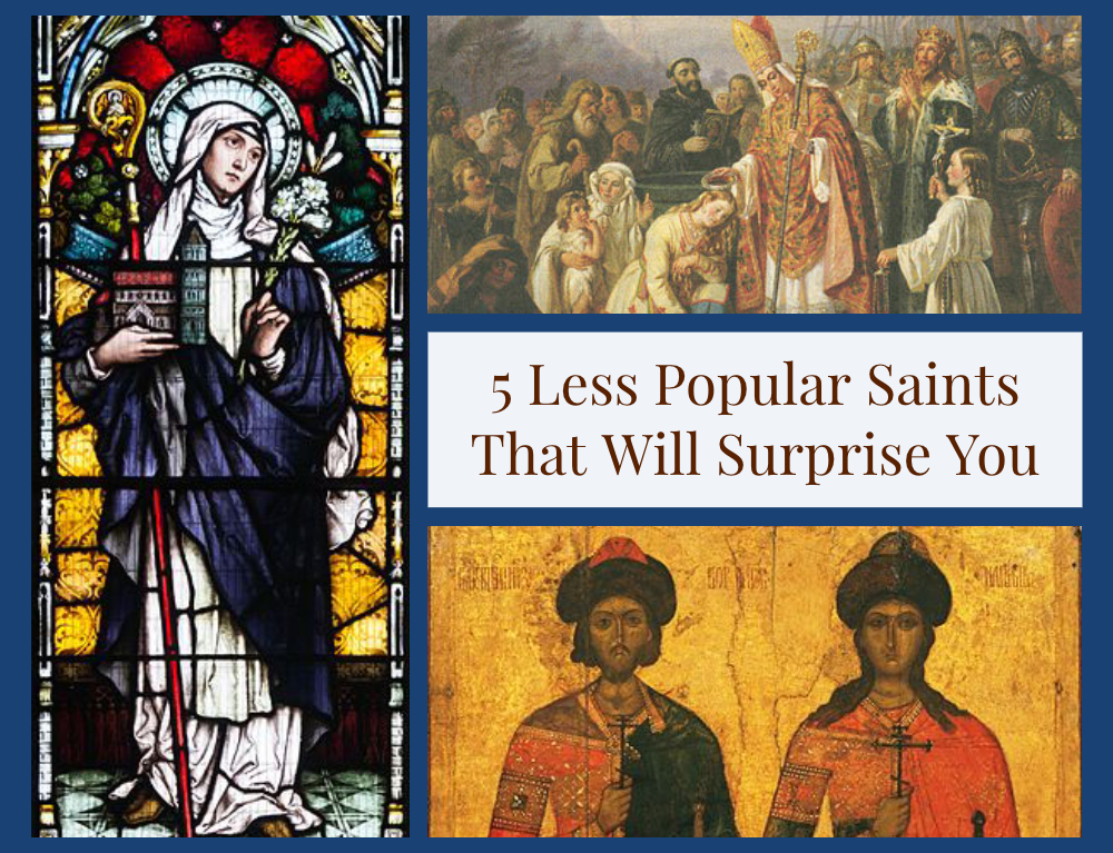 5 Less Popular Saints That Will Surprise You