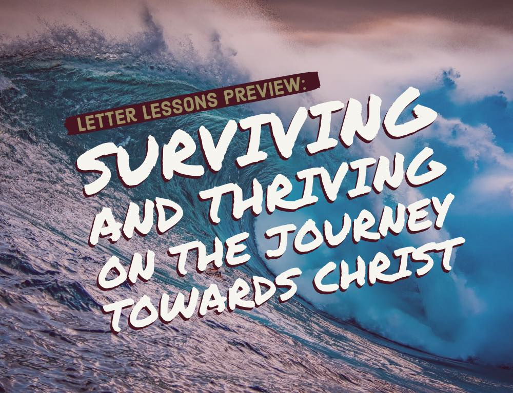 Surviving and Thriving on the Journey towards Christ
